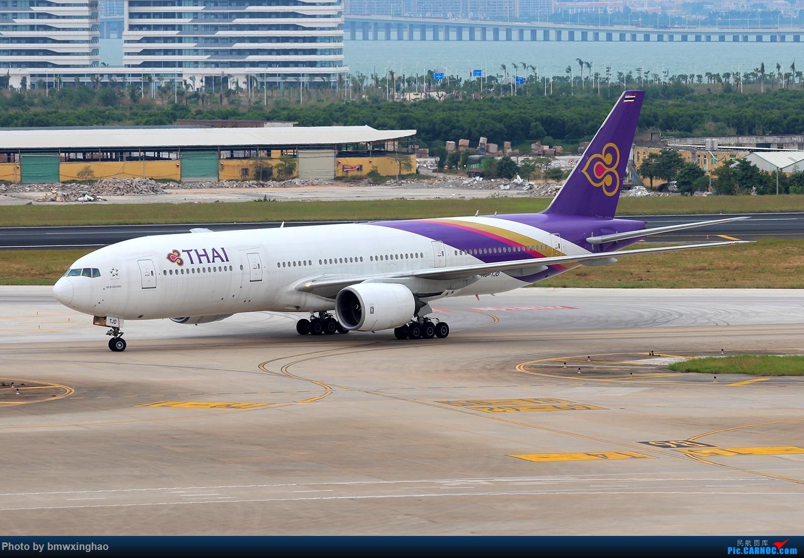 Re:[原创]XMN来一发 BOEING 777-200 HS-TJD 中国厦门高崎国际机场