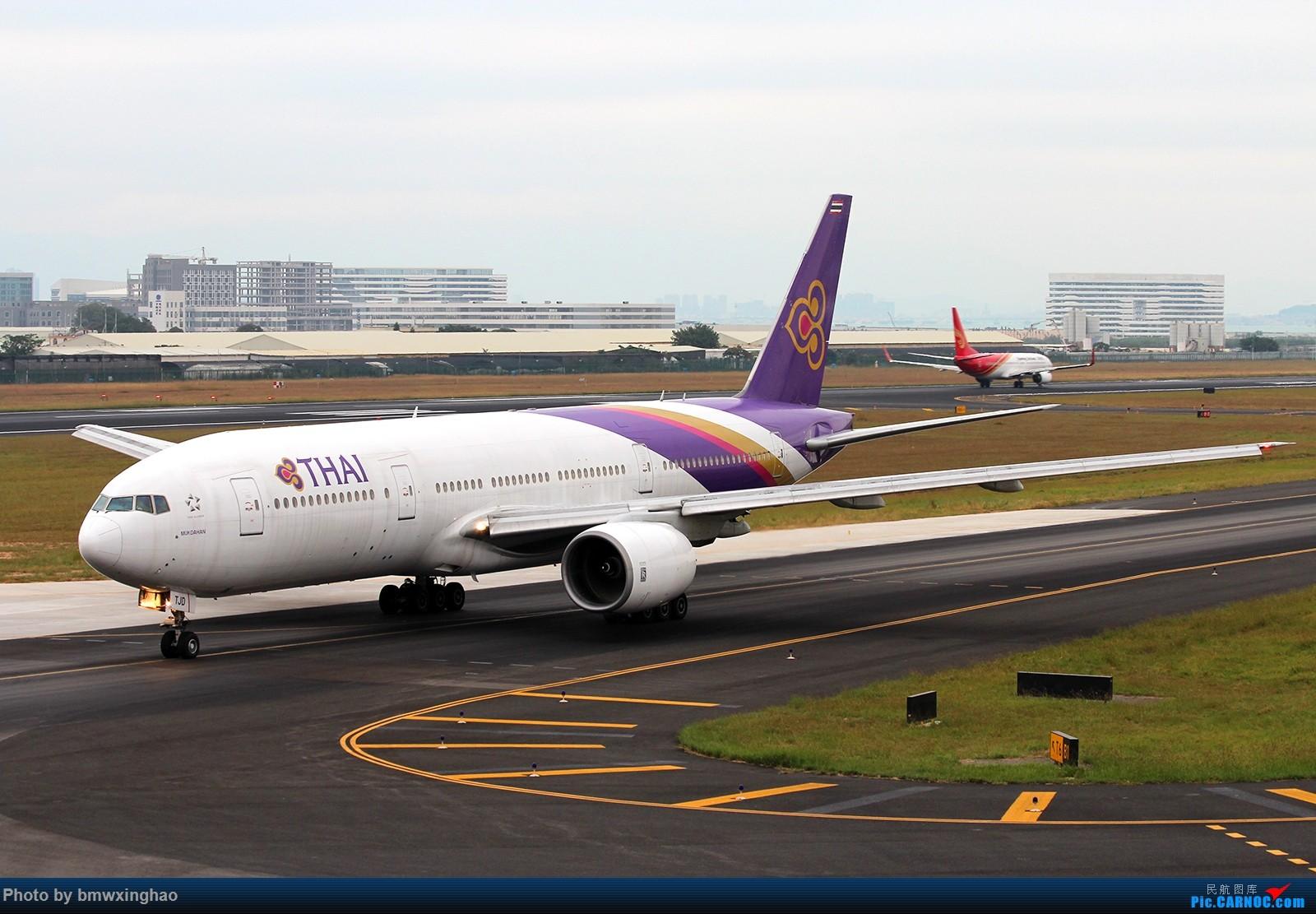 Re:[原创]XMN来一发 777-200 HS-TJD 中国厦门高崎国际机场