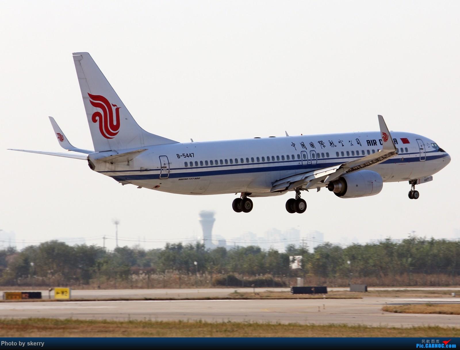 [原创]***【TSN飞友会】TSN东跑34R新位置!*** BOEING 737-800 B-5447 中国天津滨海国际机场