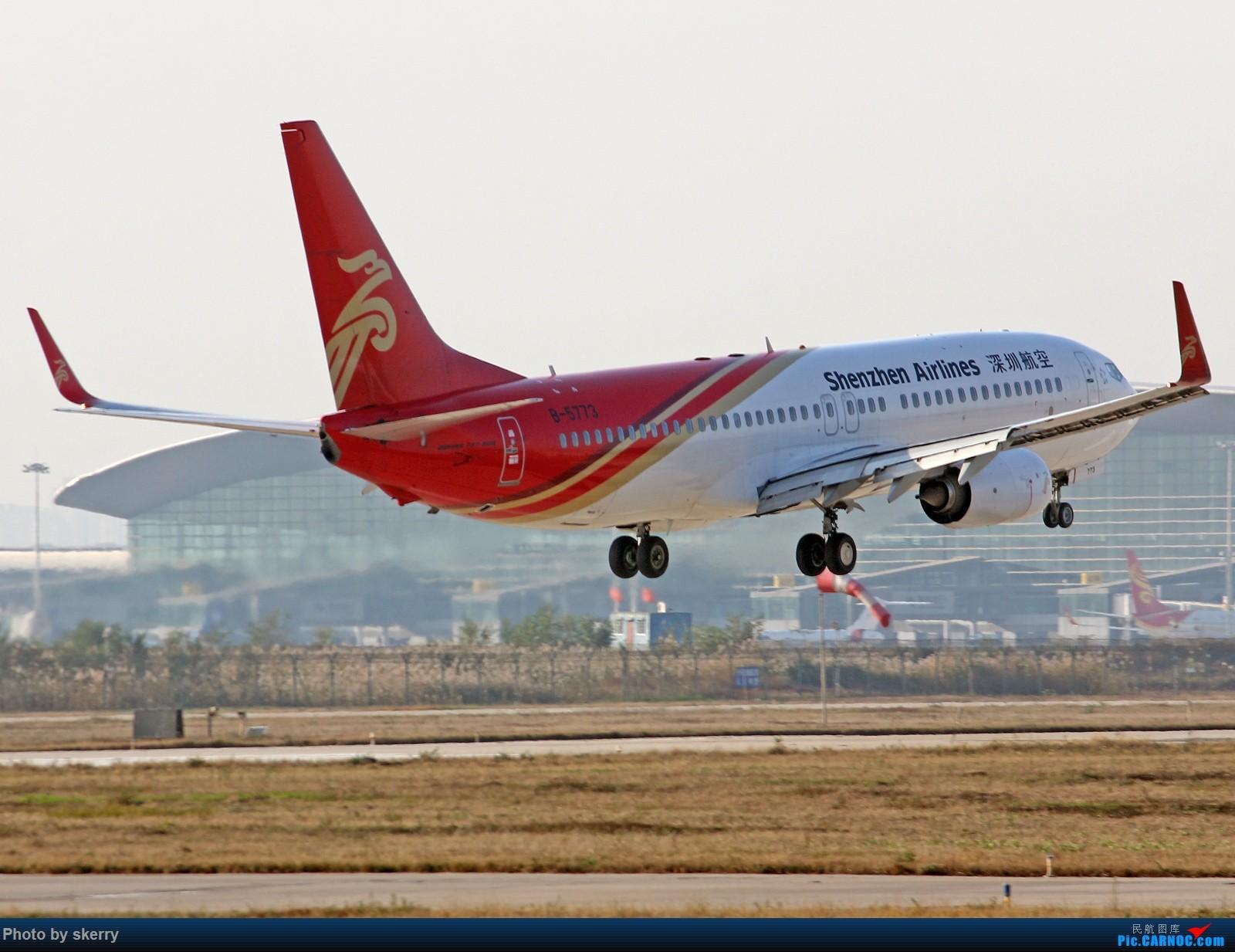 Re:[原创]***【TSN飞友会】TSN东跑34R新位置!*** BOEING 737-800 B-5773 中国天津滨海国际机场