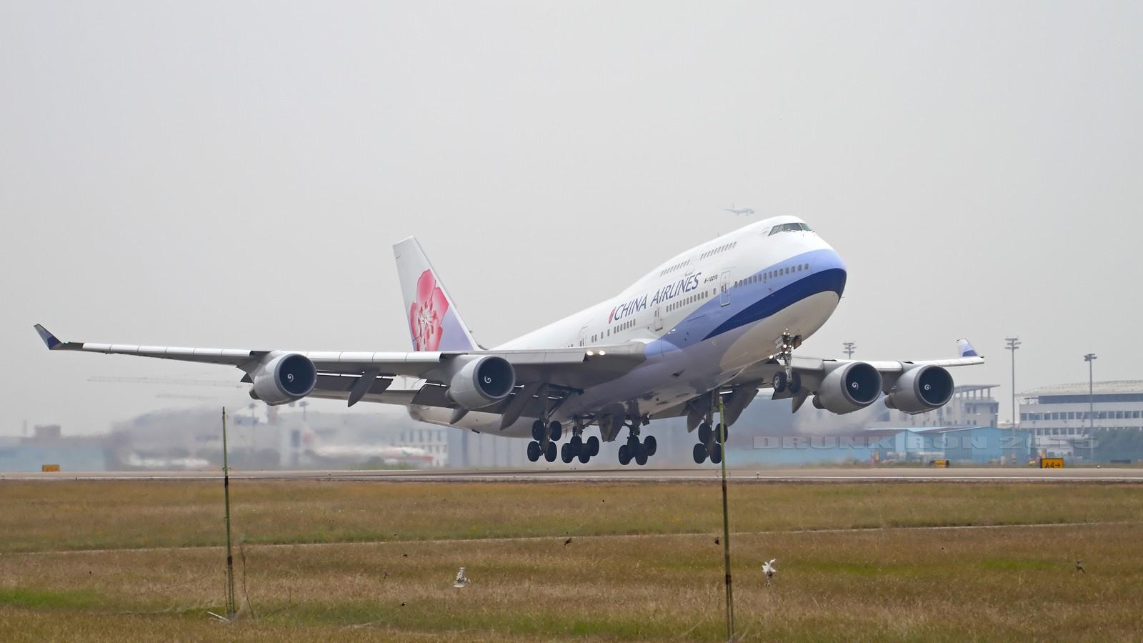 [原创]NKG~十月份的作业(二) BOEING 747-400 B-18210 中国南京禄口国际机场