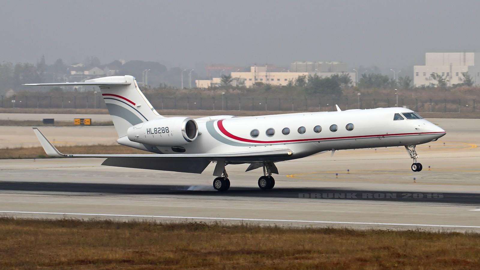 Re:[原创]Re:[原创]NKG~十月份的作业(二) GULFSTREAM AEROSPACE GULFSTREAM V HL8288 中国南京禄口国际机场