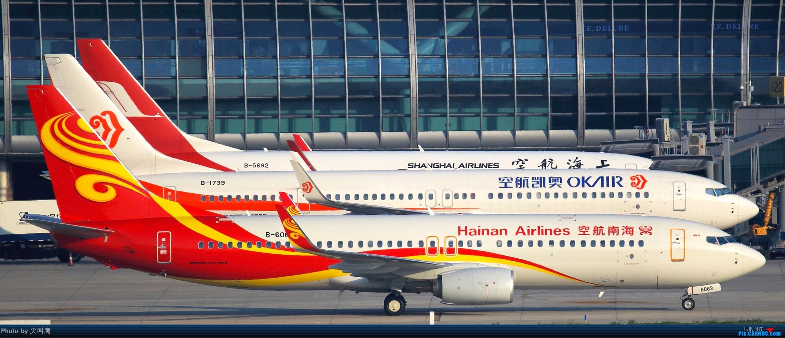 Re:[原创]737-800排排坐 BOEING 737-800 B-6062 中国南宁吴圩国际机场
