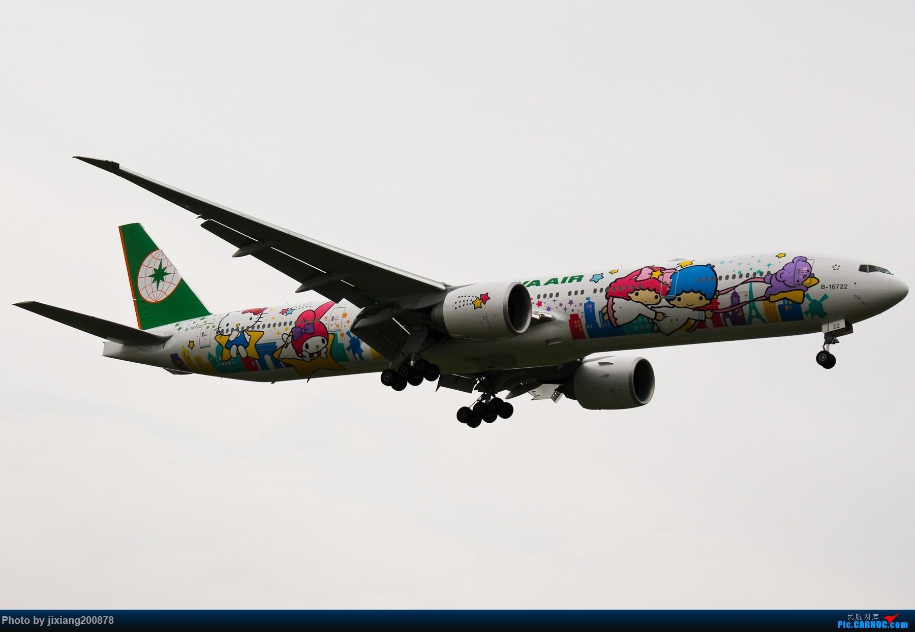 【TSN飞友会】长荣航空 B16722 BOEING 777-300ER B-16722 中国北京首都国际机场