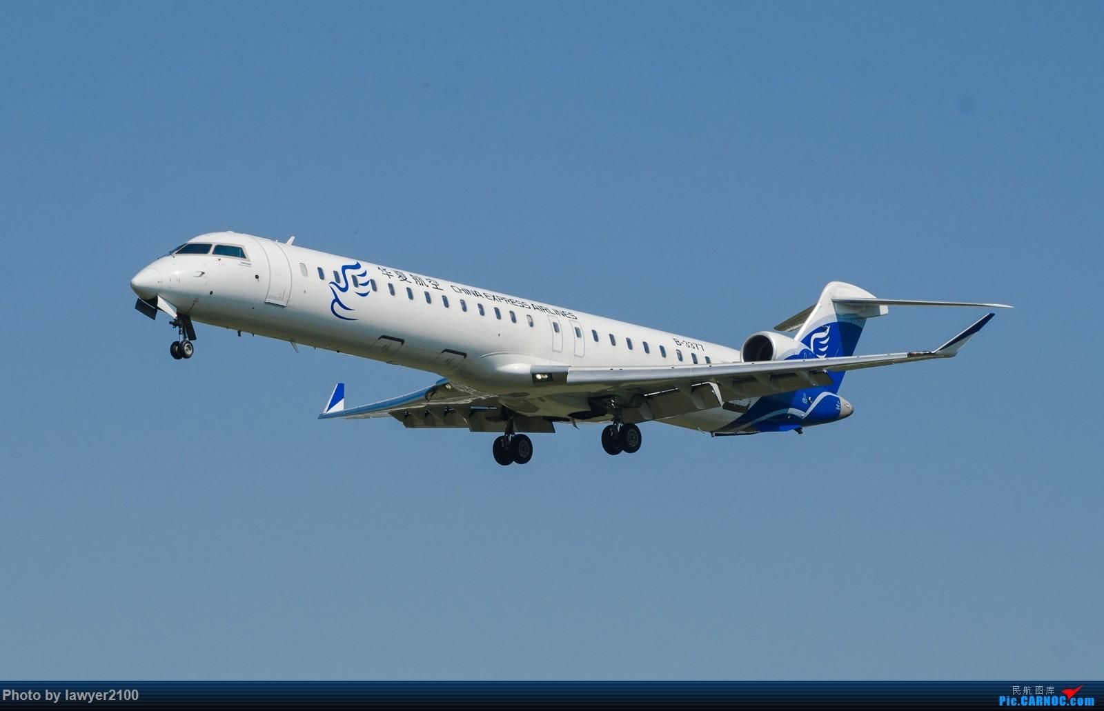 Re:[原创]双流水泥天的CR9落地 BOMBARDIER CRJ900NG B-3377 中国杭州萧山国际机场