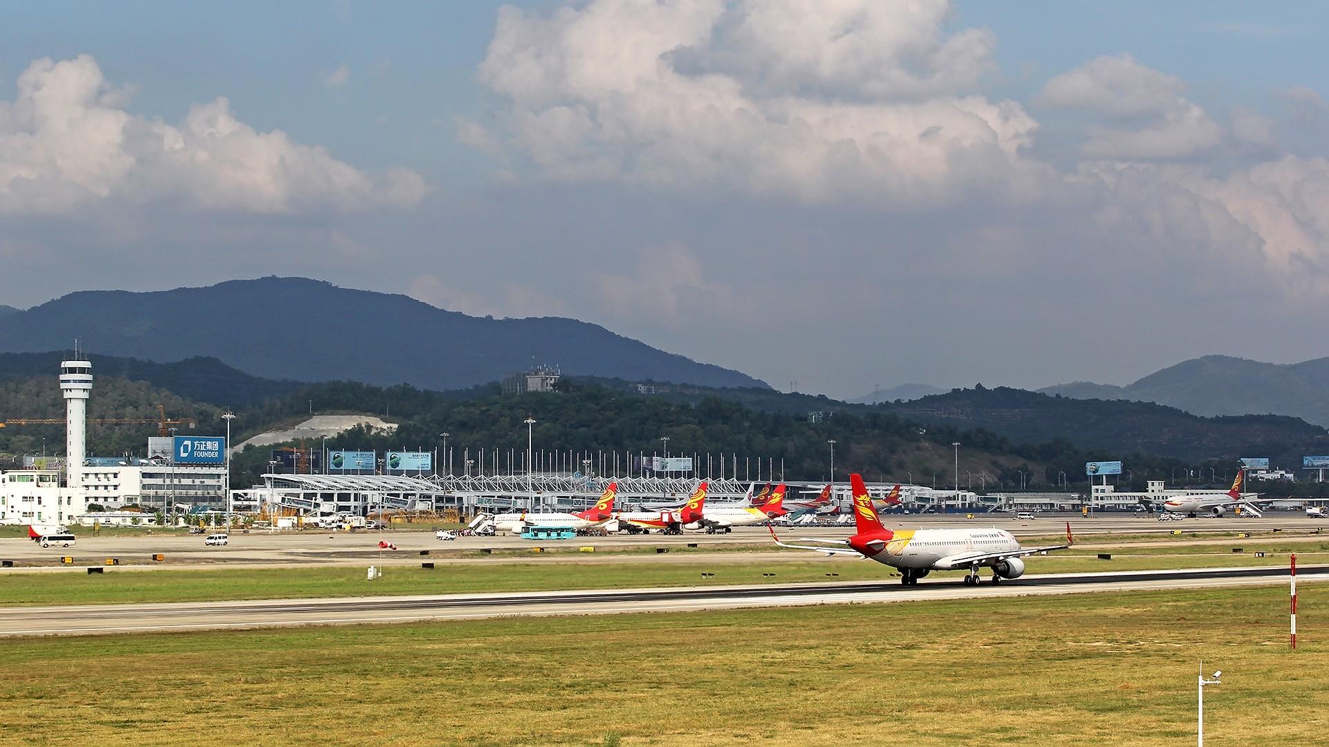 [原创]。。。[SYX]北纬18°的三亚日记。。。    中国三亚凤凰国际机场