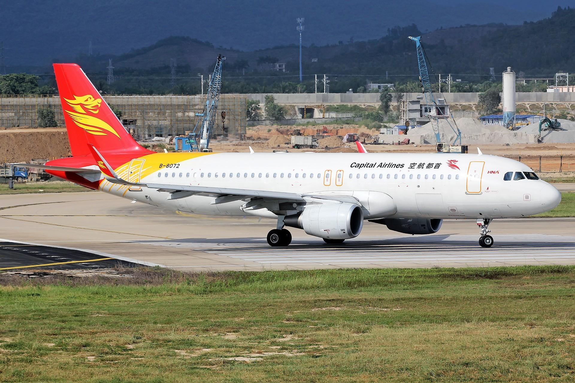 Re:[原创]。。。[SYX]北纬18°的三亚日记。。。 AIRBUS A320-200 B-8072 中国三亚凤凰国际机场