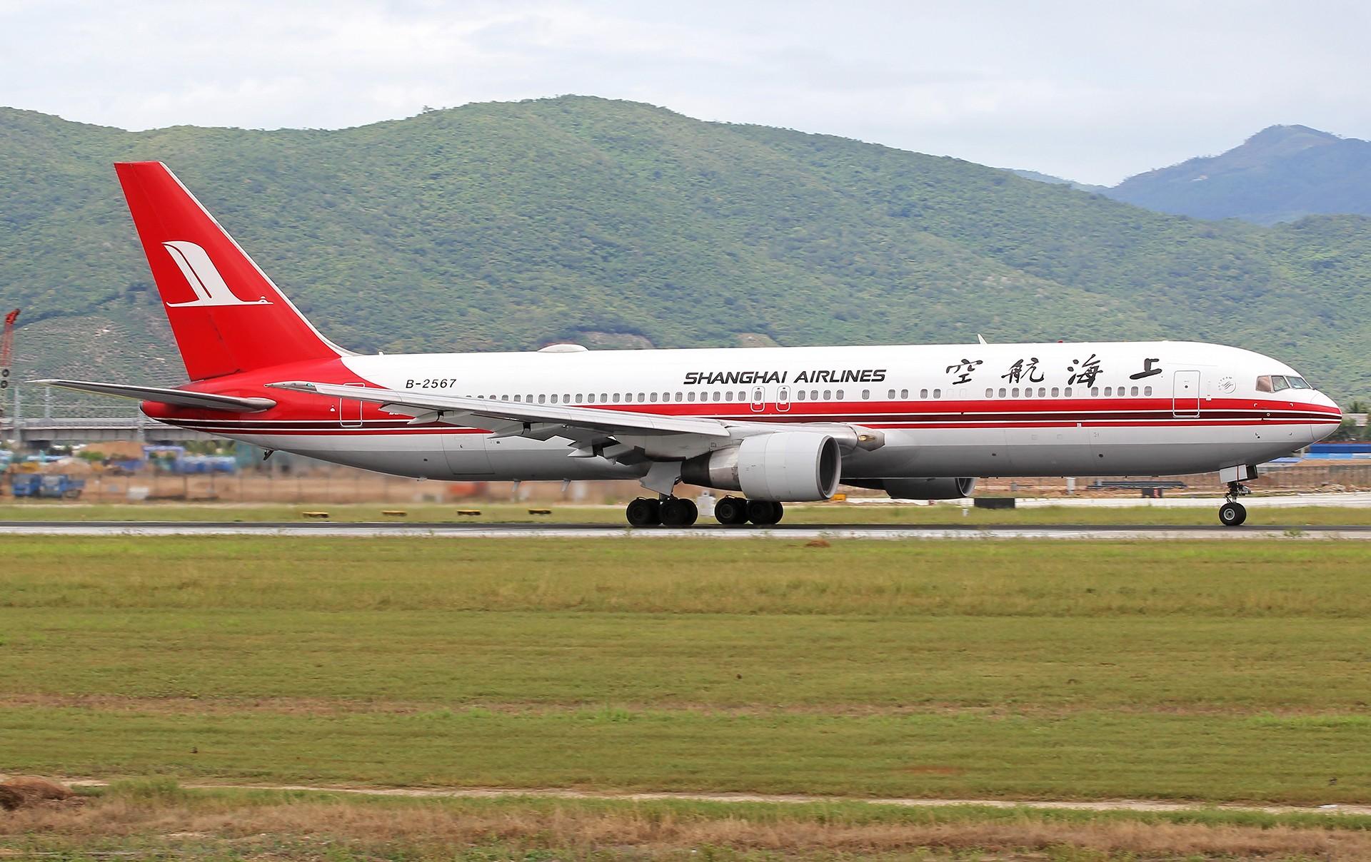 Re:[原创]。。。[SYX]北纬18°的三亚日记。。。 BOEING 767-300 B-2567 中国三亚凤凰国际机场