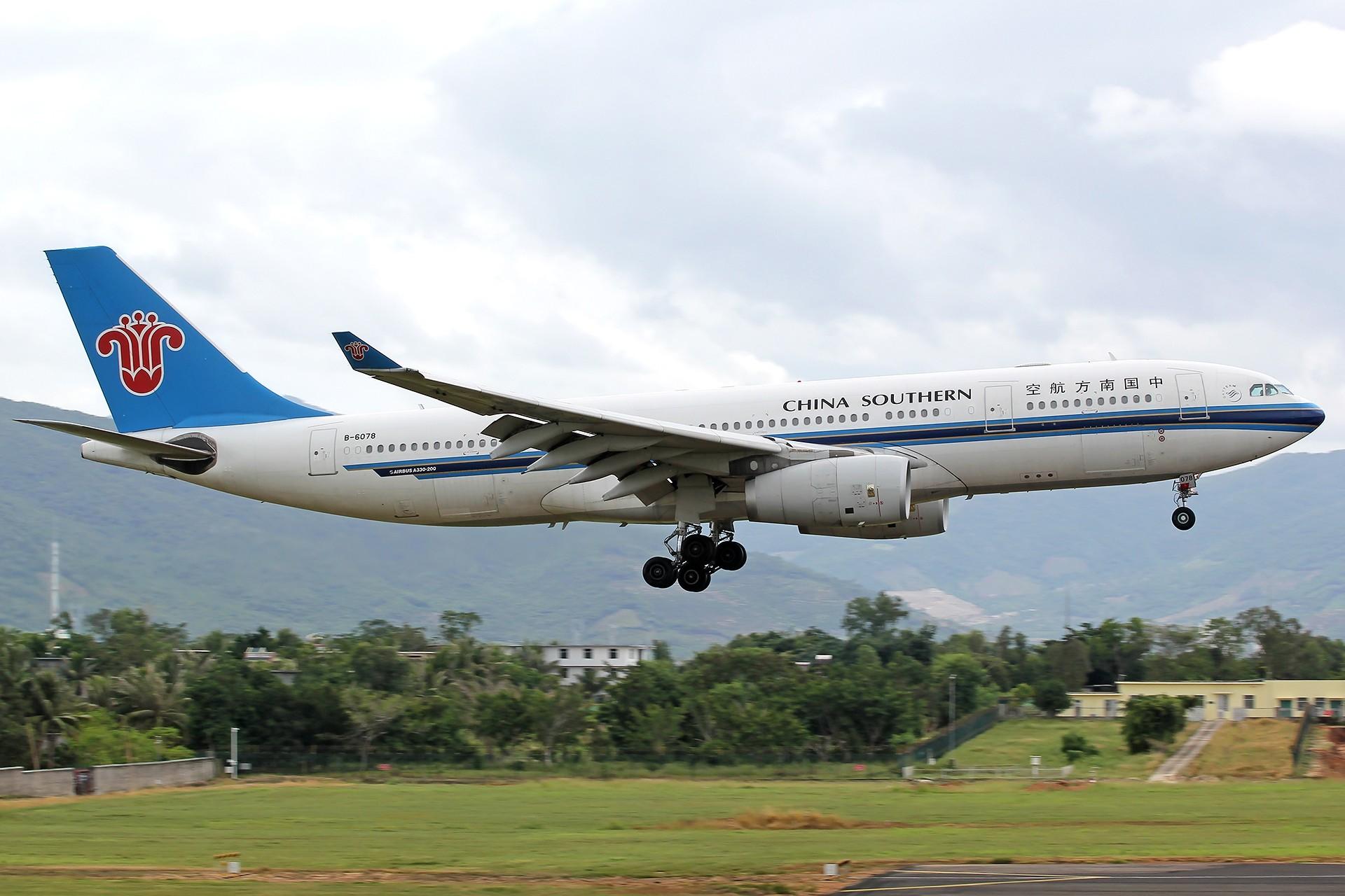 Re:[原创]。。。[SYX]北纬18°的三亚日记。。。 AIRBUS A330-200 B-6078 中国三亚凤凰国际机场