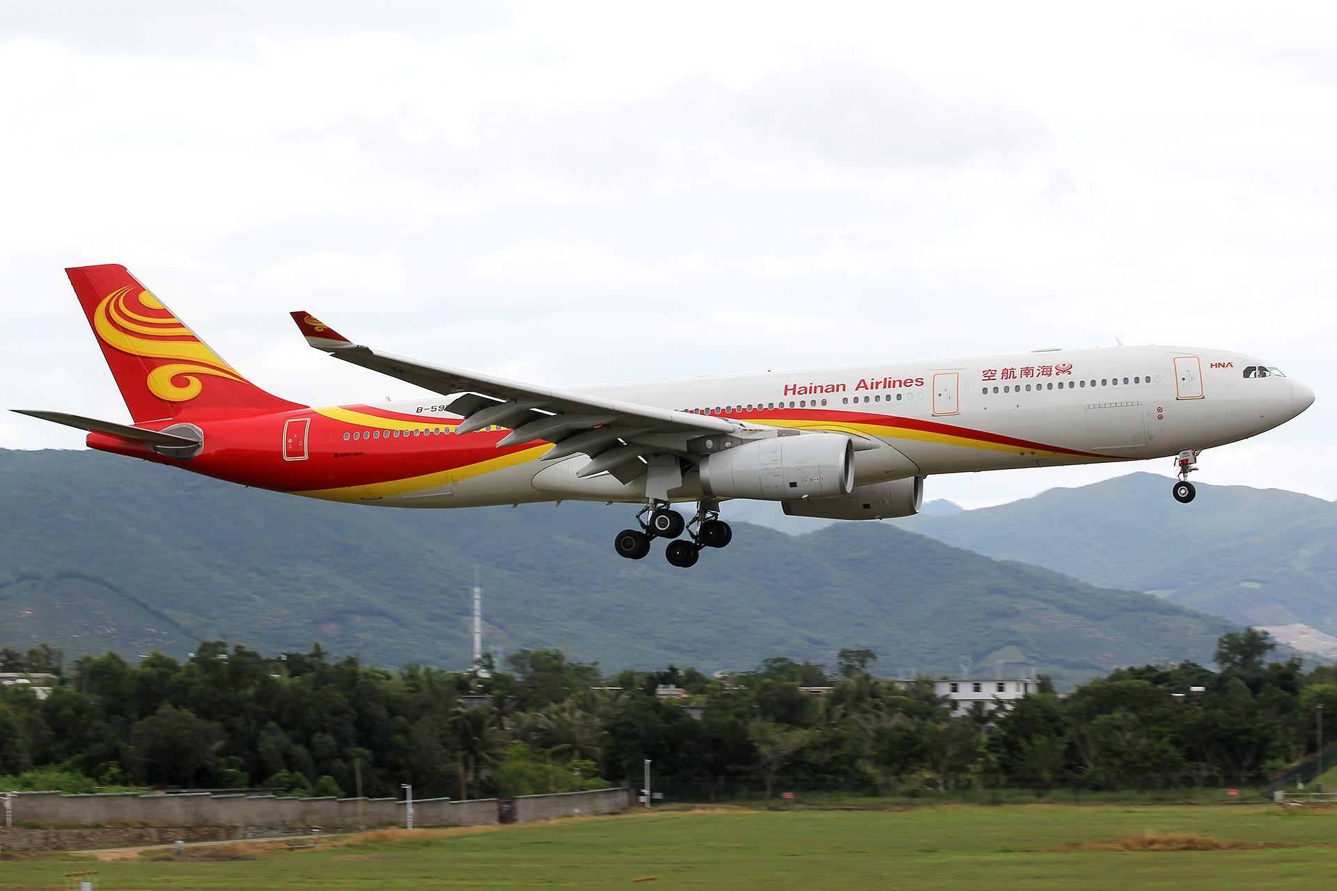 Re:[原创]。。。[SYX]北纬18°的三亚日记。。。 AIRBUS A330-300 B-5950 中国三亚凤凰国际机场