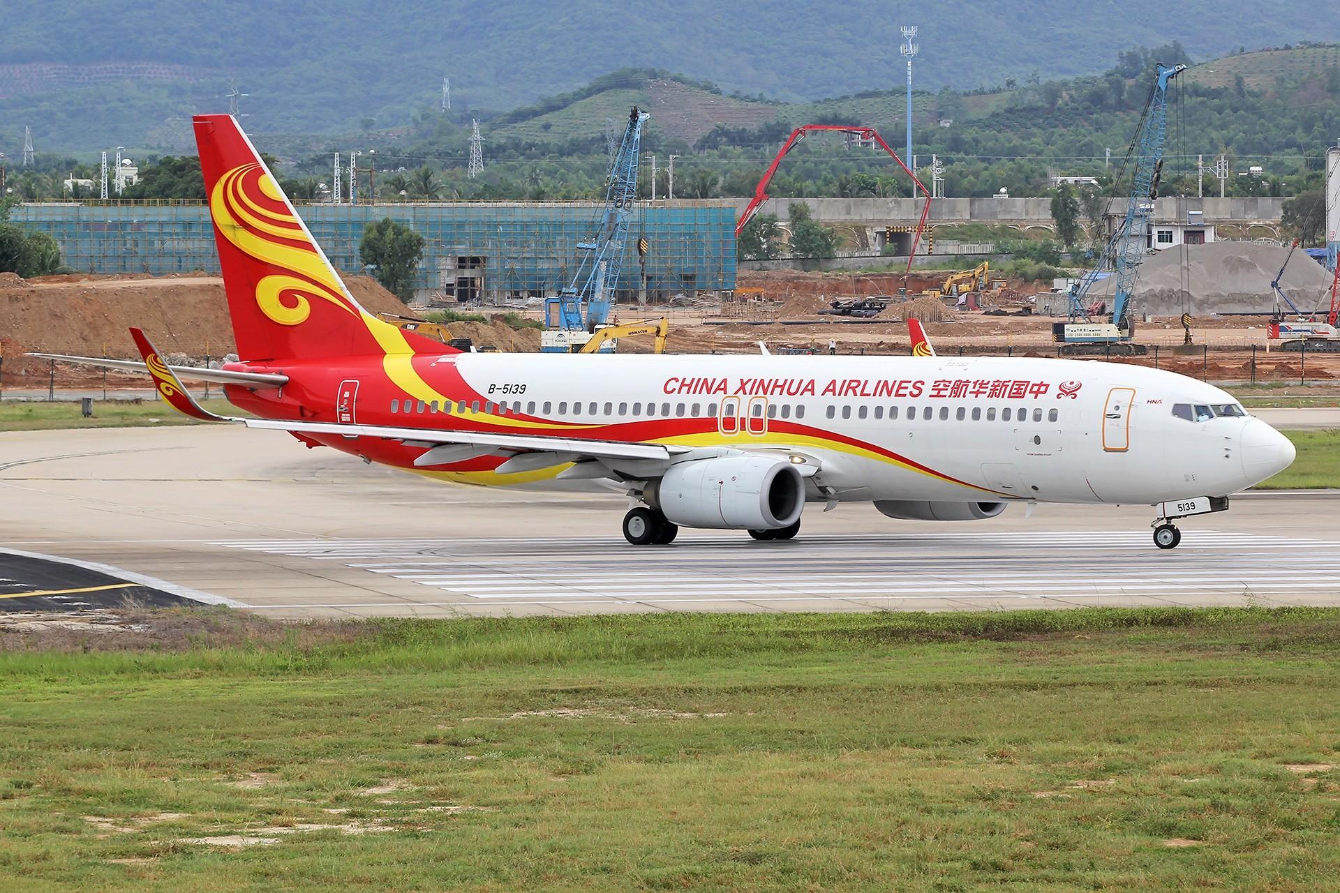 Re:[原创]。。。[SYX]北纬18°的三亚日记。。。 BOEING 737-800 B-5139 中国大连国际机场