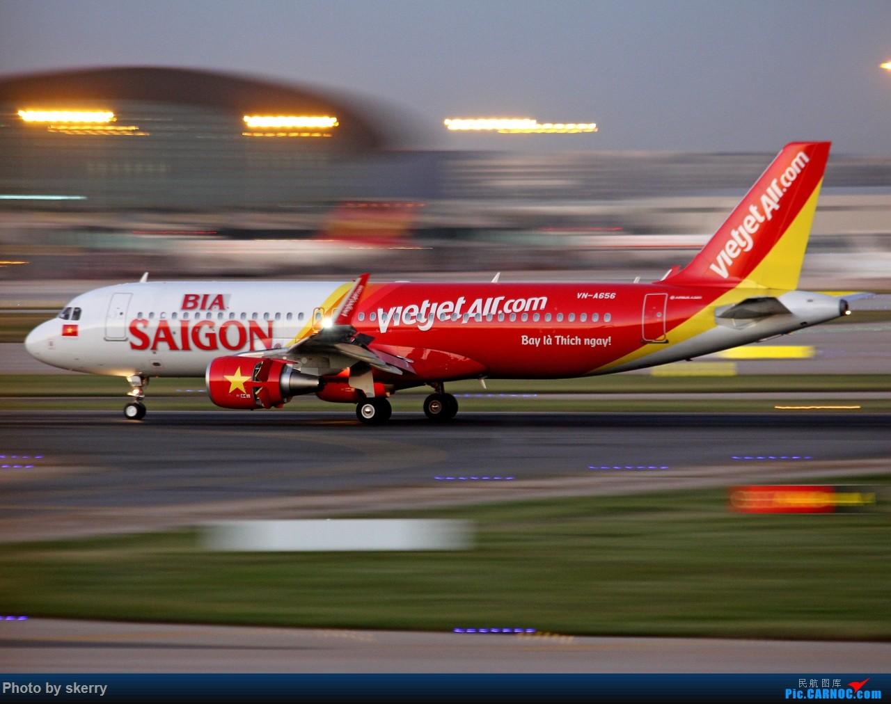 [原创]***【TSN飞友会】动感多张!*** AIRBUS A320-200 VN-A656 中国天津滨海国际机场