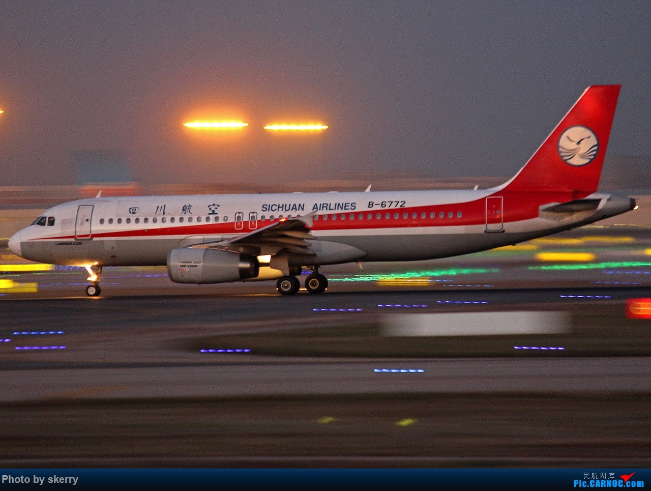 Re:[原创]***【TSN飞友会】动感多张!*** AIRBUS A320-200 B-6772 中国天津滨海国际机场
