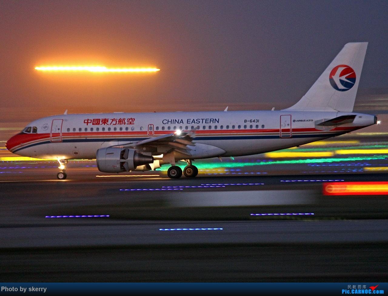 Re:[原创]***【TSN飞友会】动感多张!*** AIRBUS A319-100 B-6431 中国天津滨海国际机场