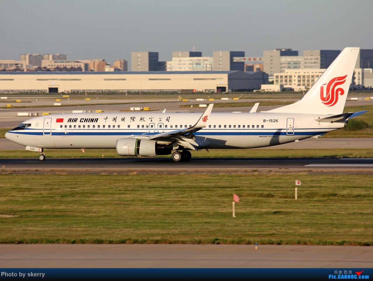 Re:[原创]***【TSN飞友会】何时才有好天气!*** BOEING 737-800 B-1526 中国天津滨海国际机场