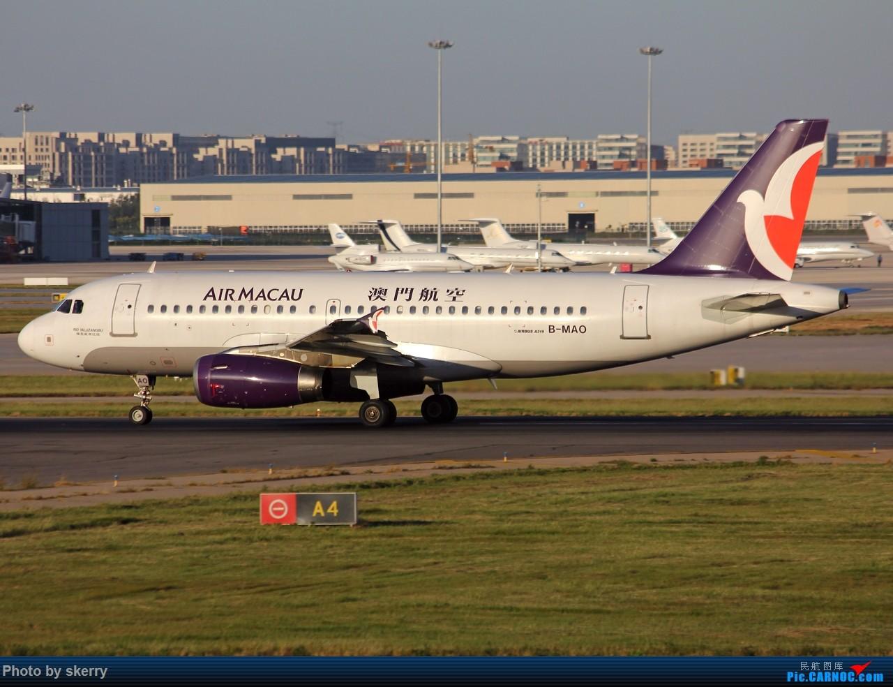 Re:[原创]***【TSN飞友会】何时才有好天气!*** AIRBUS A319-100 B-MAO 中国天津滨海国际机场