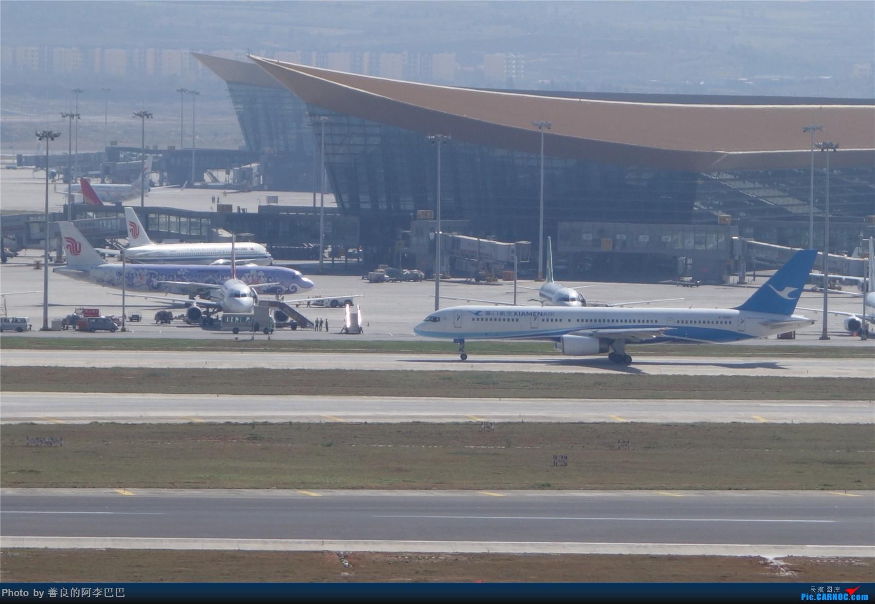 Re:[原创]长水淡雾中拍飞机 BOEING 757-200 B-2866 中国昆明长水国际机场