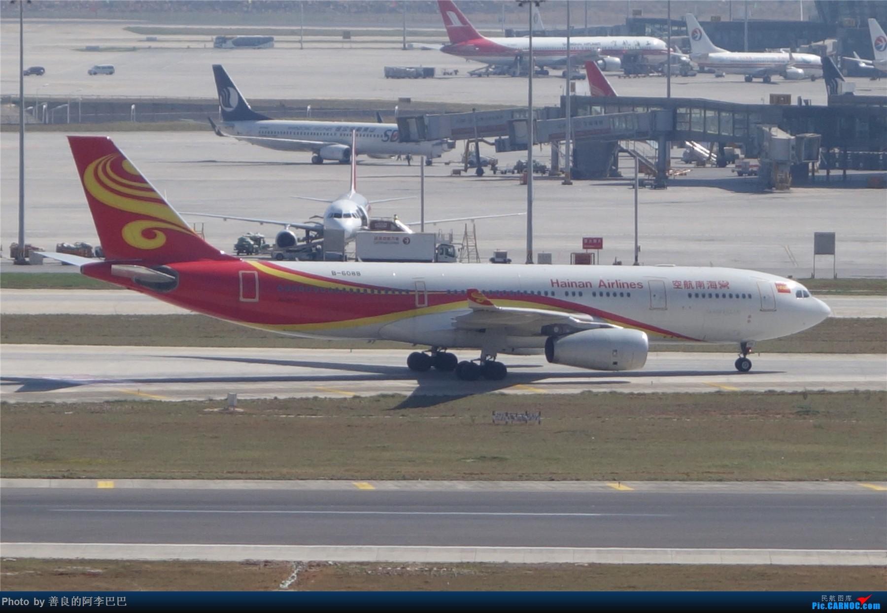 Re:[原创]长水淡雾中拍飞机 AIRBUS A330-200 B-6088 中国昆明长水国际机场