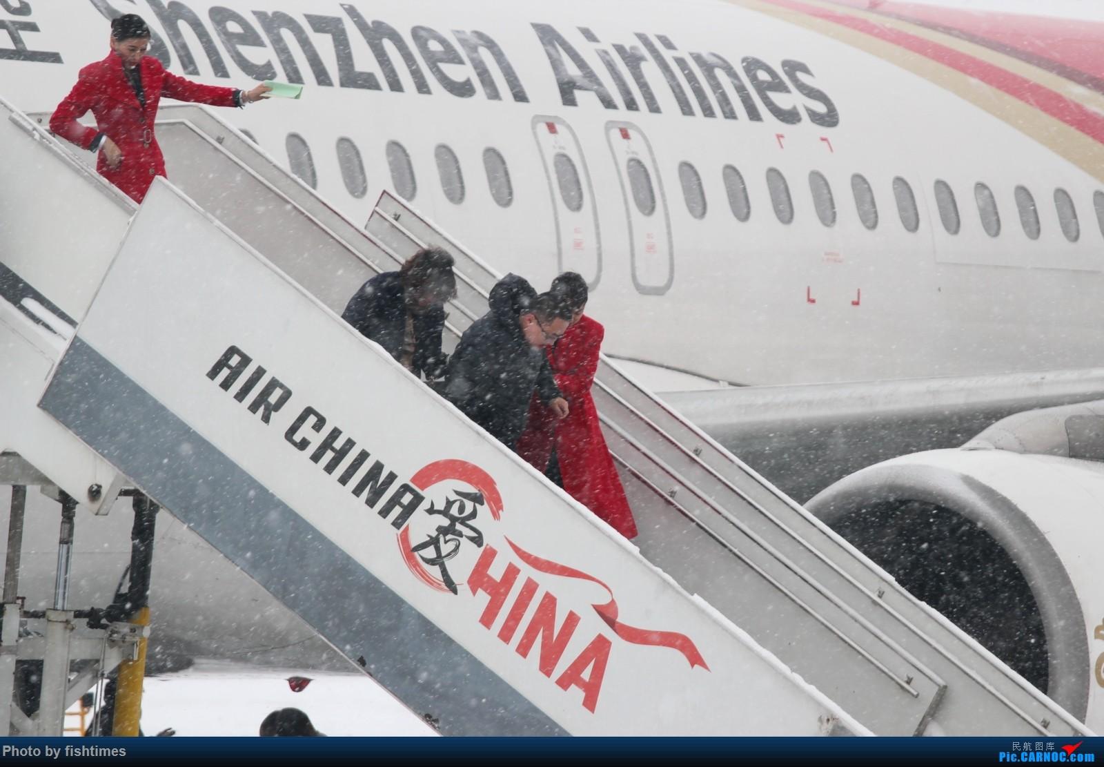 Re:[原创]【PEK】20151122_暴雪中的首都机场     空乘