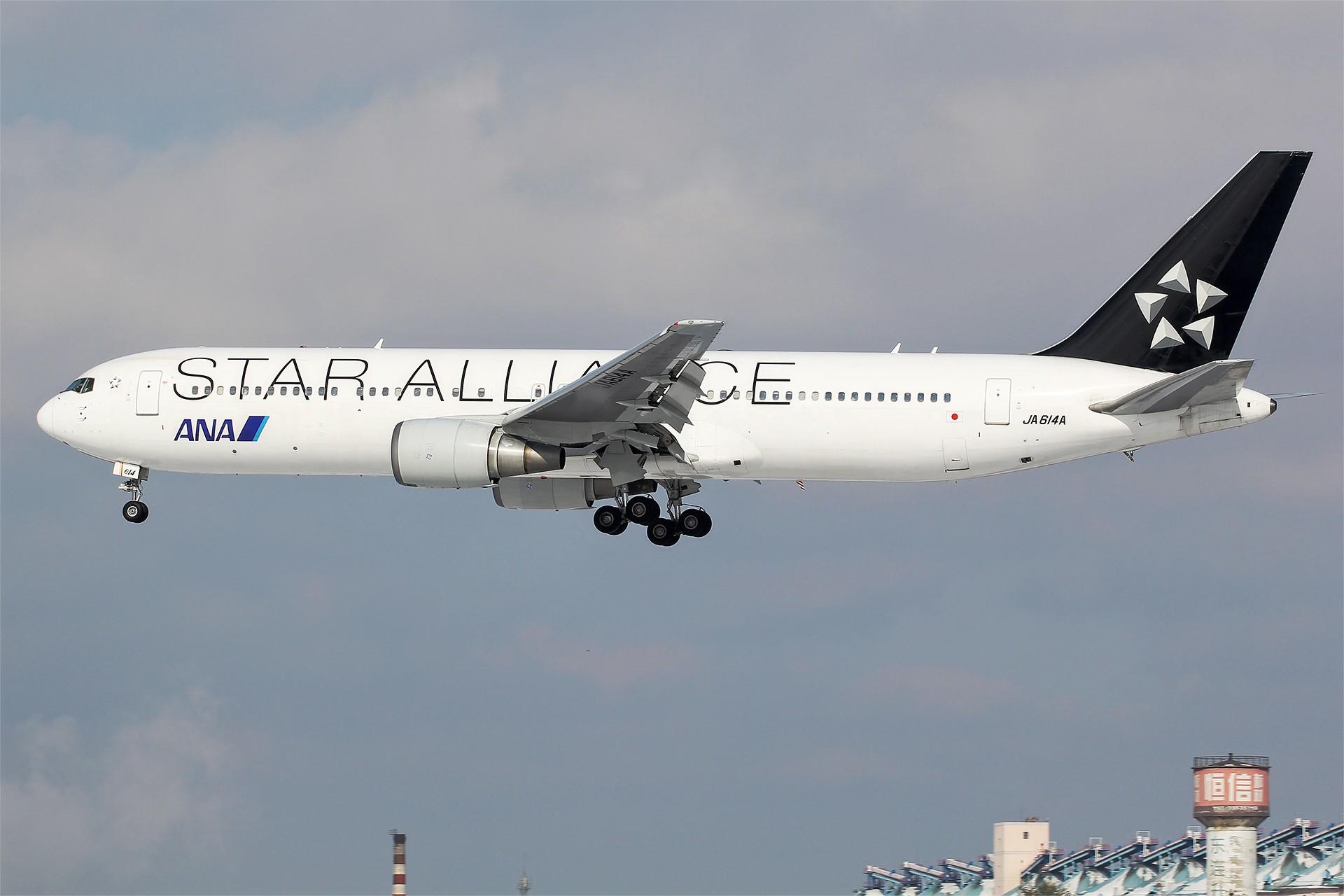Re:[原创][DLC]。。。醉美日本。。。 BOEING 767-300ER JA614A 中国大连国际机场