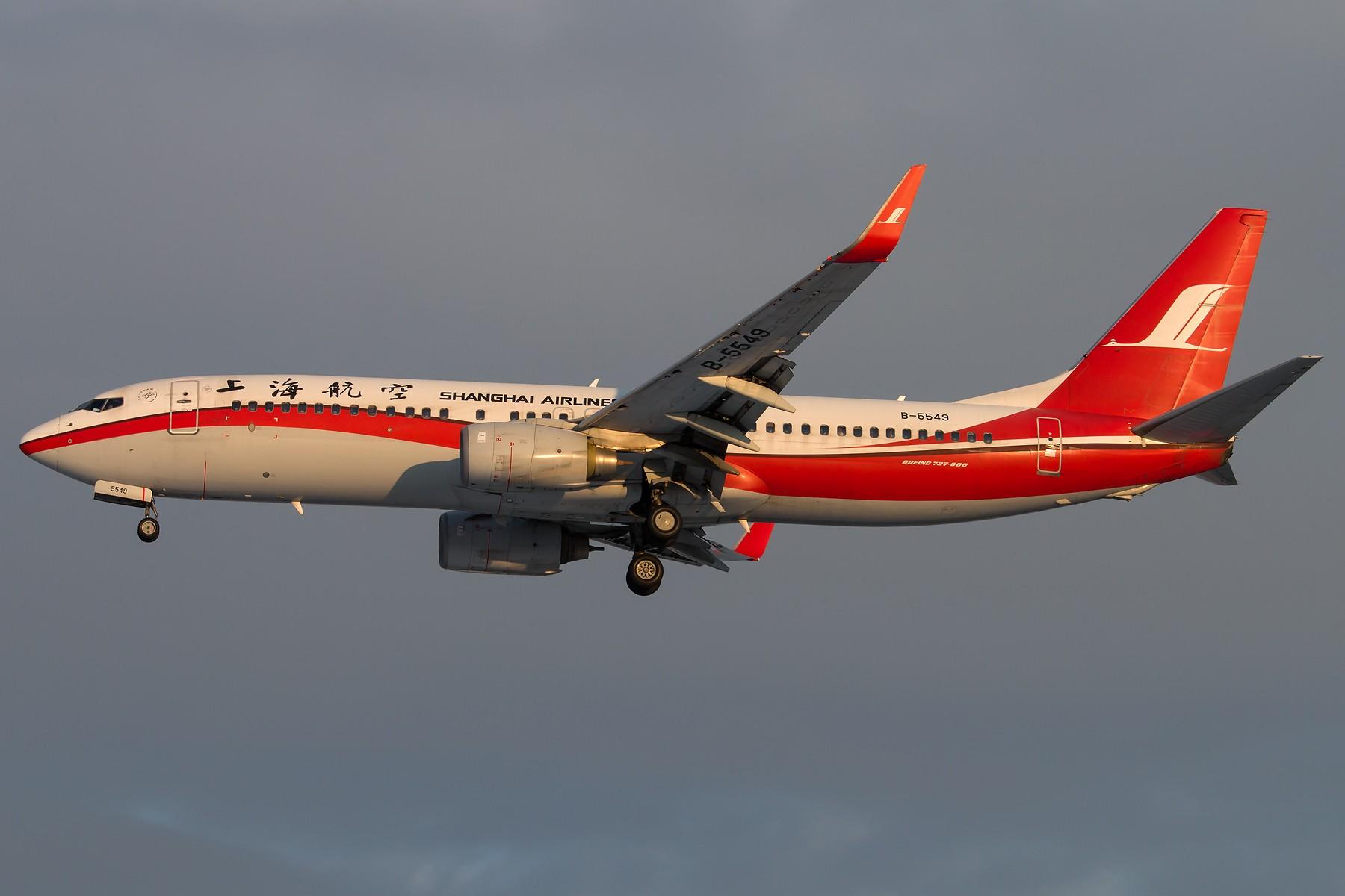 Re:[原创]雪里红 1800*1200 [5pics] BOEING 737-86N(WL) B-5549 中国北京首都国际机场