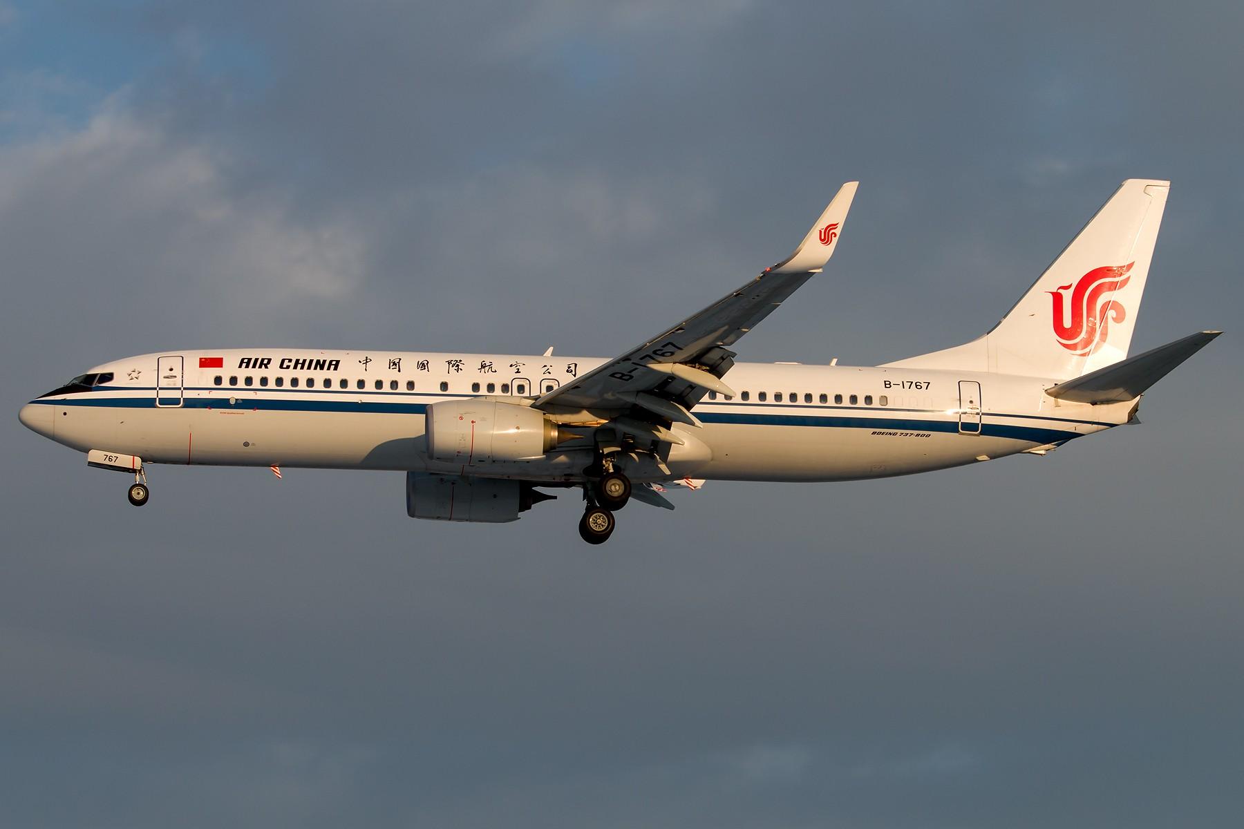 Re:[原创]标涂 1800*1200 [5pics] BOEING 737-800 B-1767 中国北京首都国际机场