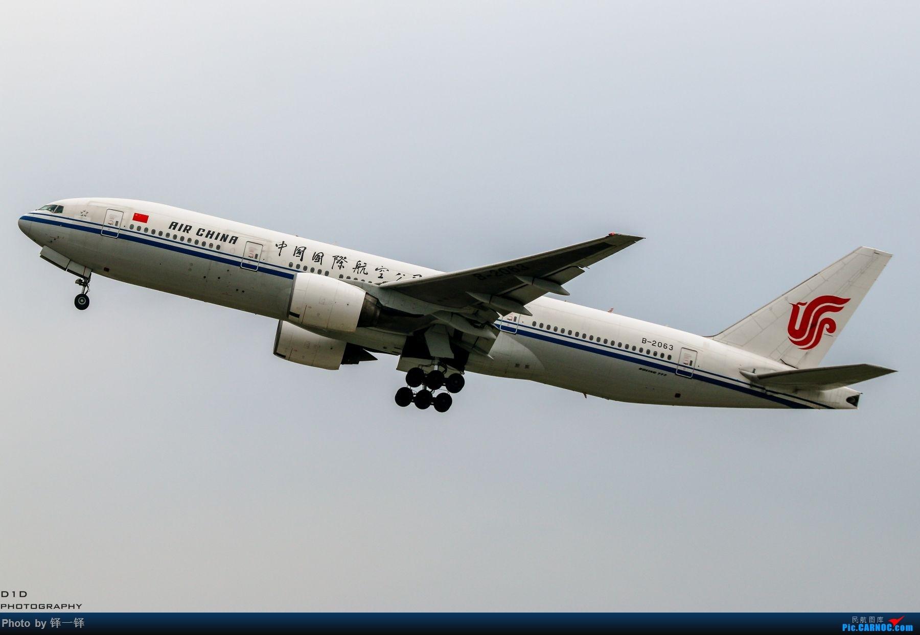Re:[原创]【新人发帖】CTU拍机一年以来的收获。 BOEING 777-200 B-2063 中国成都双流国际机场