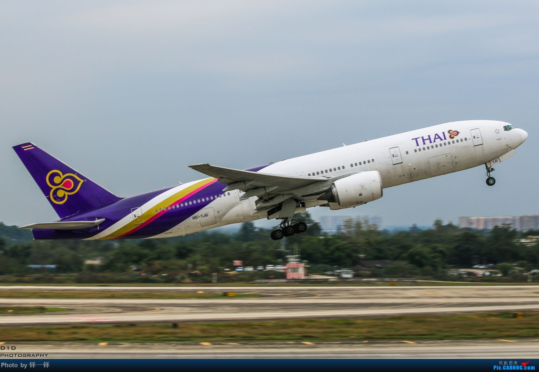 Re:[原创]【新人发帖】CTU拍机一年以来的收获。 BOEING 777-200 HS-TJG 中国成都双流国际机场