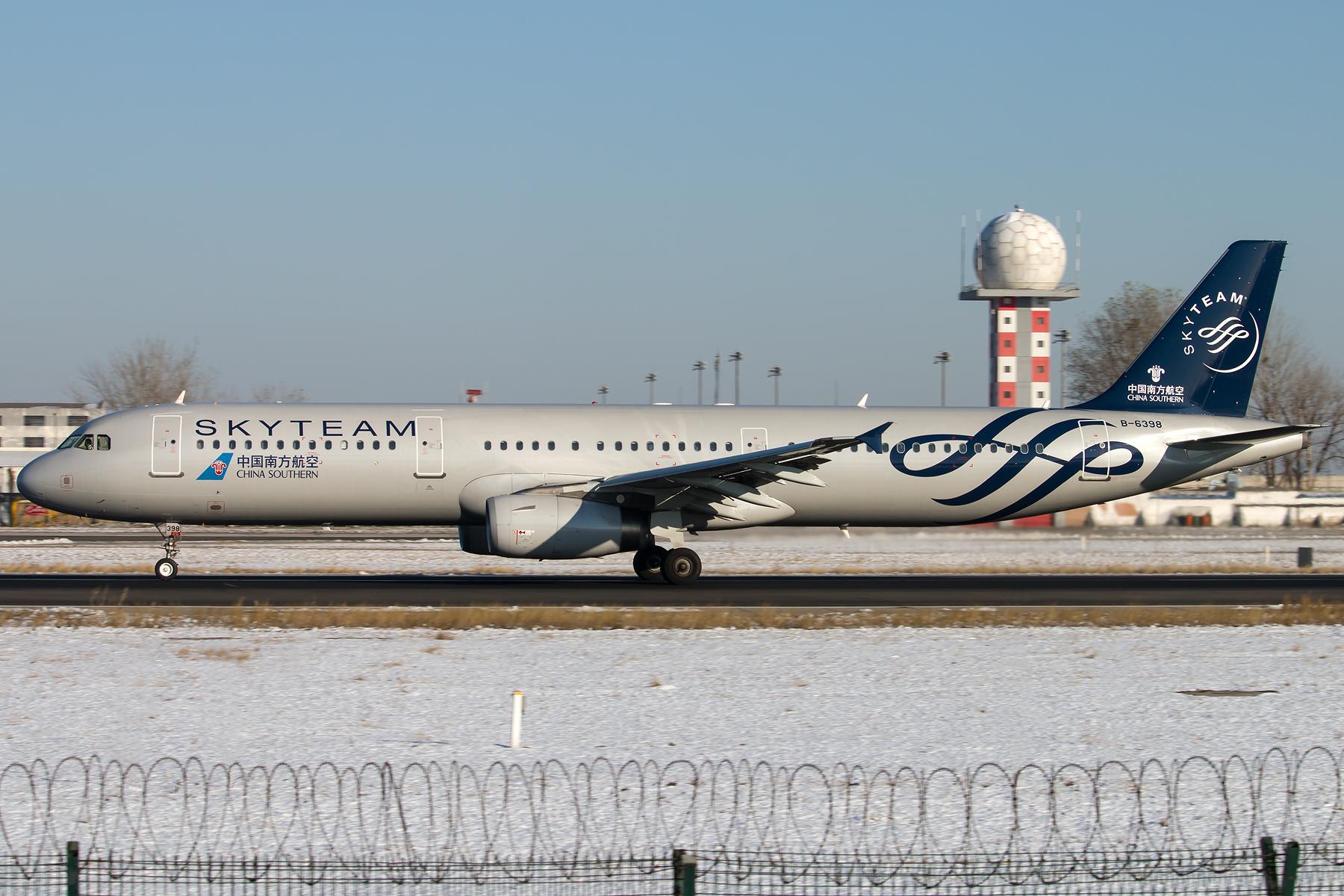 [原创][一图党] SKYTEAM 1800*1200 AIRBUS A321-231 B-6398 ZBAA/PEK