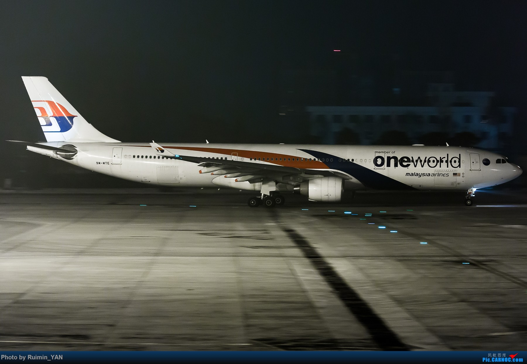 Re:[原创]【PEK飞友会】马航(寰宇一家oneworld成员)*4 AIRBUS A330-300 9M-MTE 中国北京首都国际机场