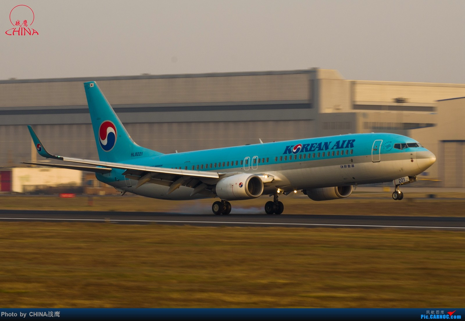Re:[原创]【SHE】第三季度桃仙拍飞机集锦 BOEING 737-900ER HL-8221 中国沈阳桃仙国际机场