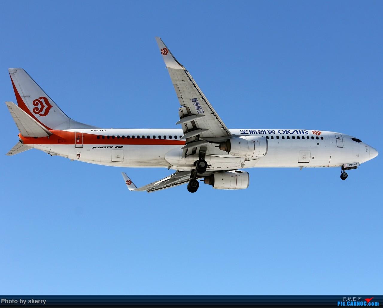 Re:[原创]【TSN飞友会】TSN雪后唯一一天好天气! BOEING 737-800 B-5575 中国天津滨海国际机场