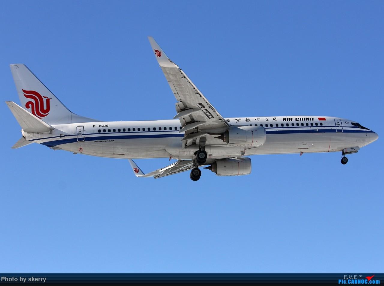 Re:[原创]【TSN飞友会】TSN雪后唯一一天好天气! BOEING 737-800 B-1526 中国天津滨海国际机场