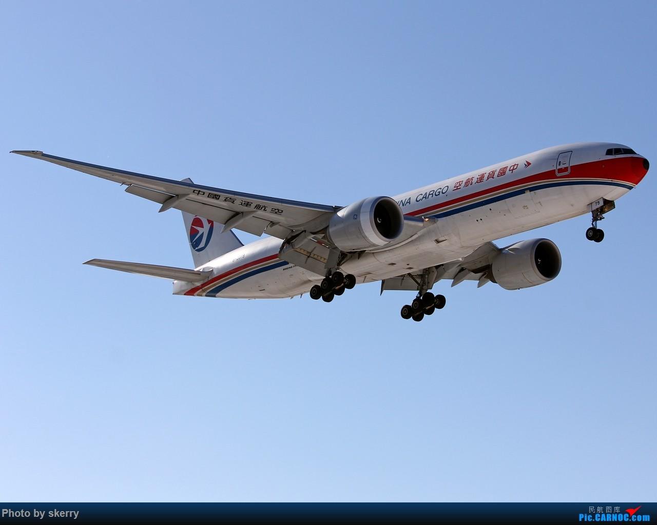 Re:[原创]【TSN飞友会】TSN雪后唯一一天好天气! BOEING 777-200 B-2079 中国天津滨海国际机场