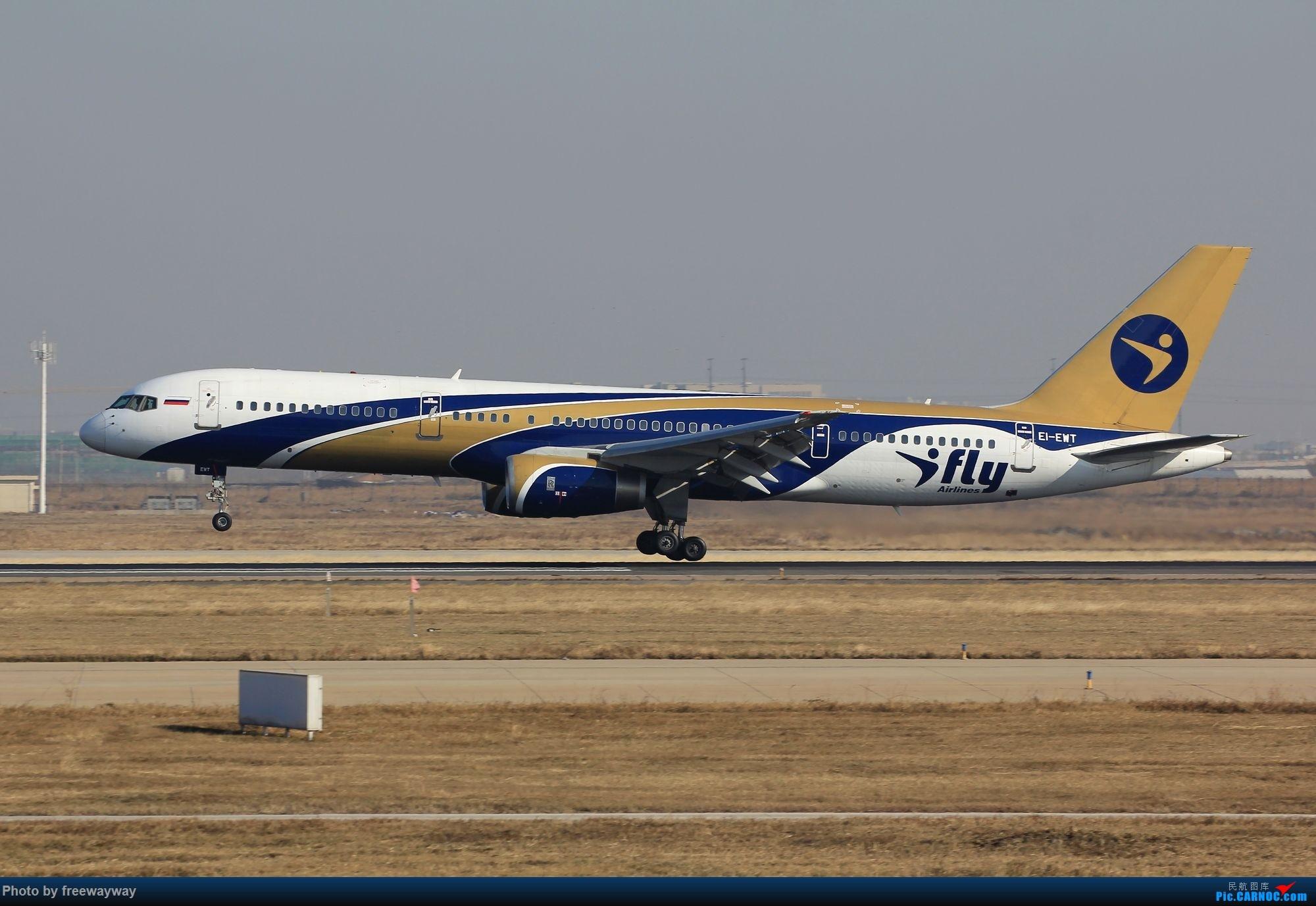 Re:【TSN飞友会】发一组爱妃757落地吧 BOEING 757-200 EI-EWT 中国天津滨海国际机场