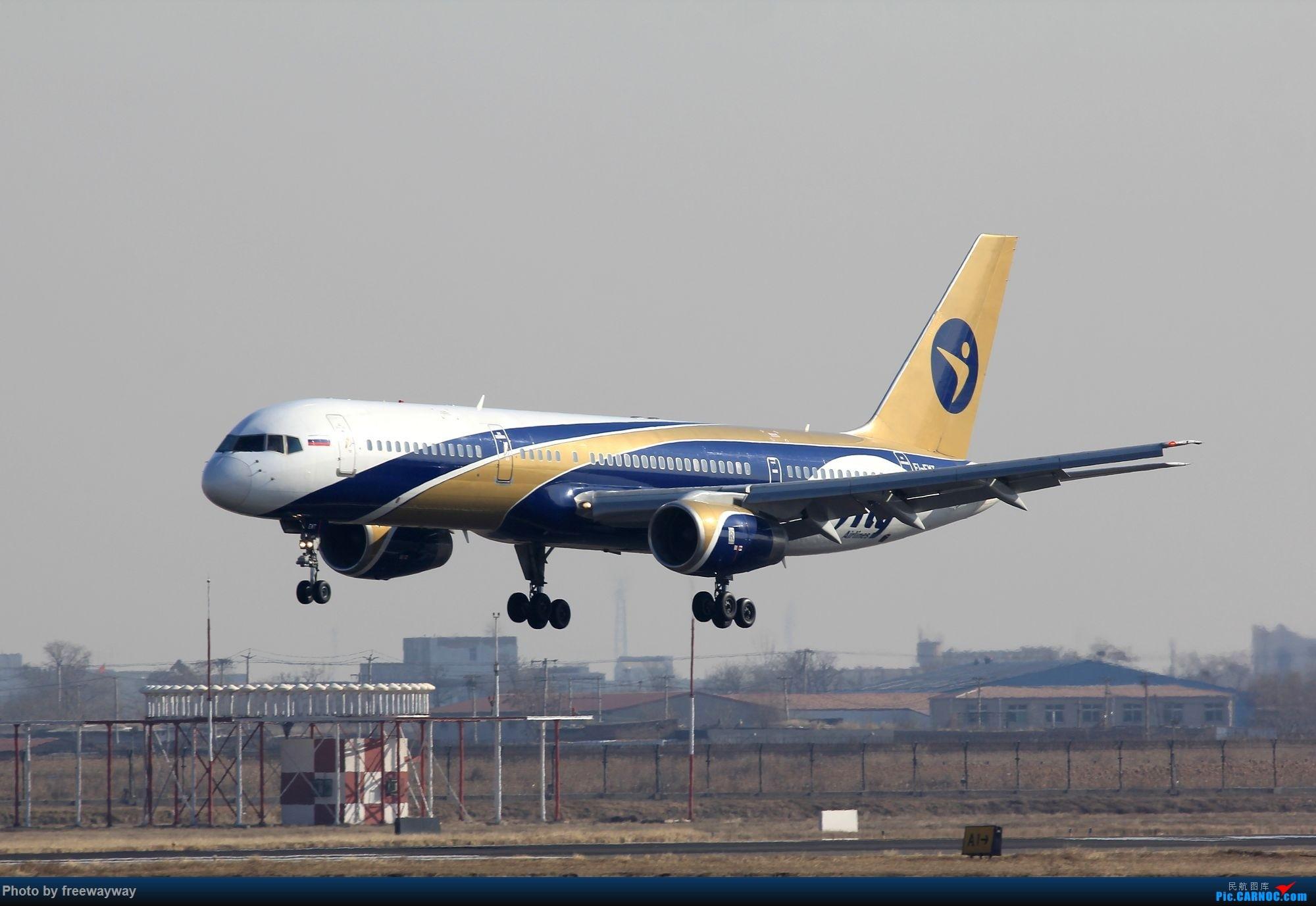 【TSN飞友会】发一组爱妃757落地吧 BOEING 757-200 EI-EWT 中国天津滨海国际机场