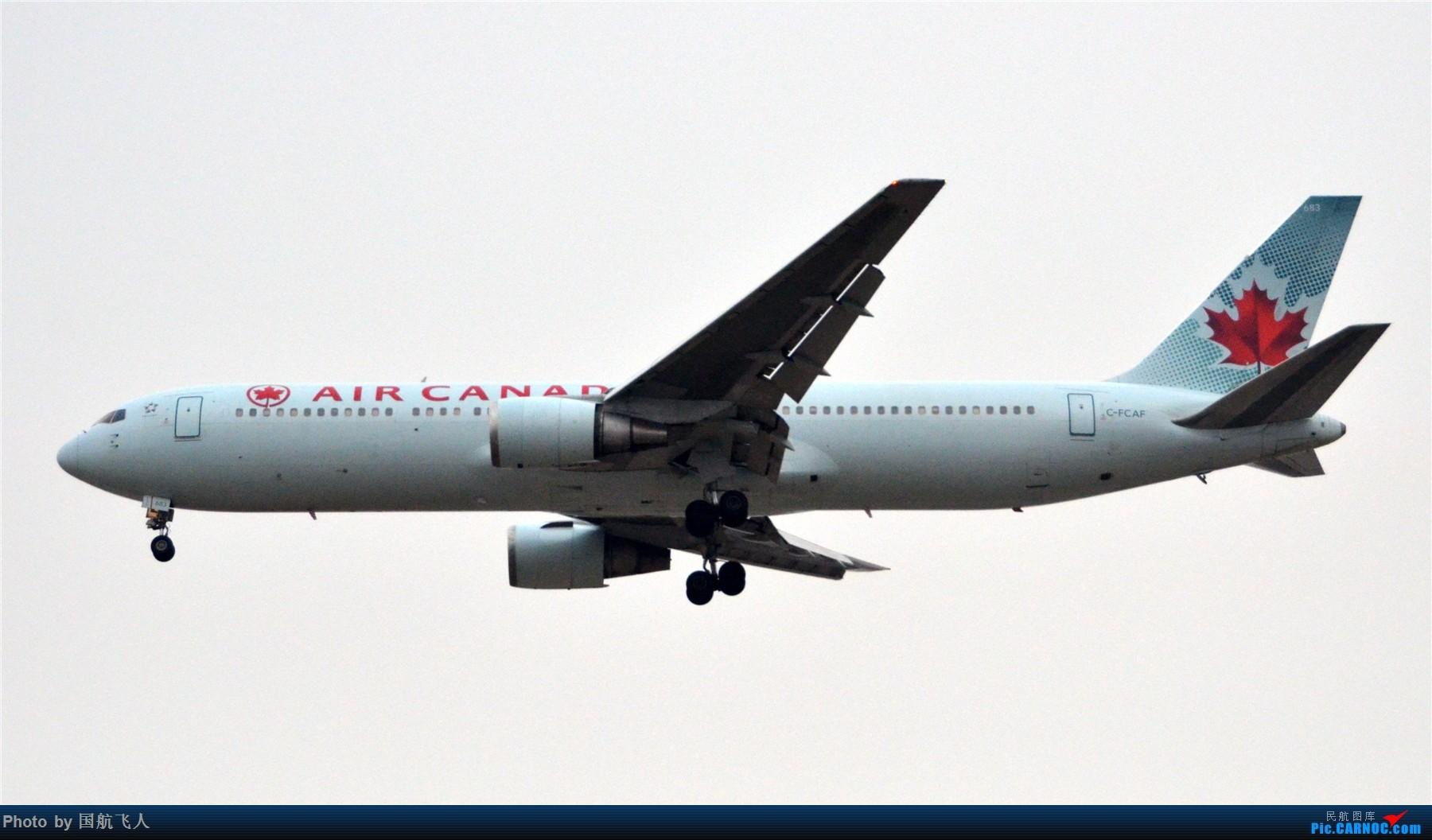 Re:[原创]PEK拍机 1800*1200大图 BOEING 767-300ER C-FCAF 中国北京首都国际机场