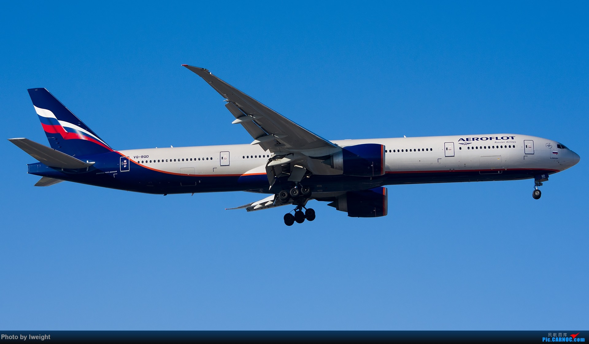 Re:[原创]终于在12月的北京等到了一个晴天的周末,出来拍拍飞机【2015-12-5】 BOEING 777-300ER VQ-BQD 中国北京首都国际机场