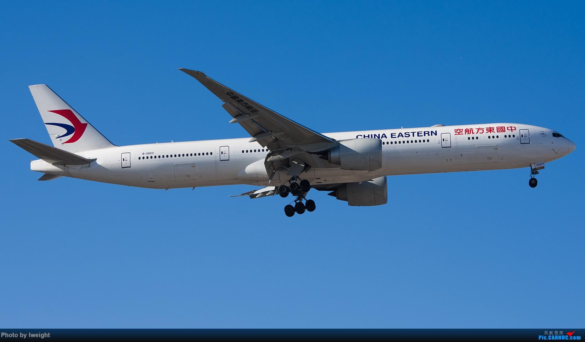 Re:[原创]终于在12月的北京等到了一个晴天的周末,出来拍拍飞机【2015-12-5】 BOEING 777-300ER B-2023 中国北京首都国际机场