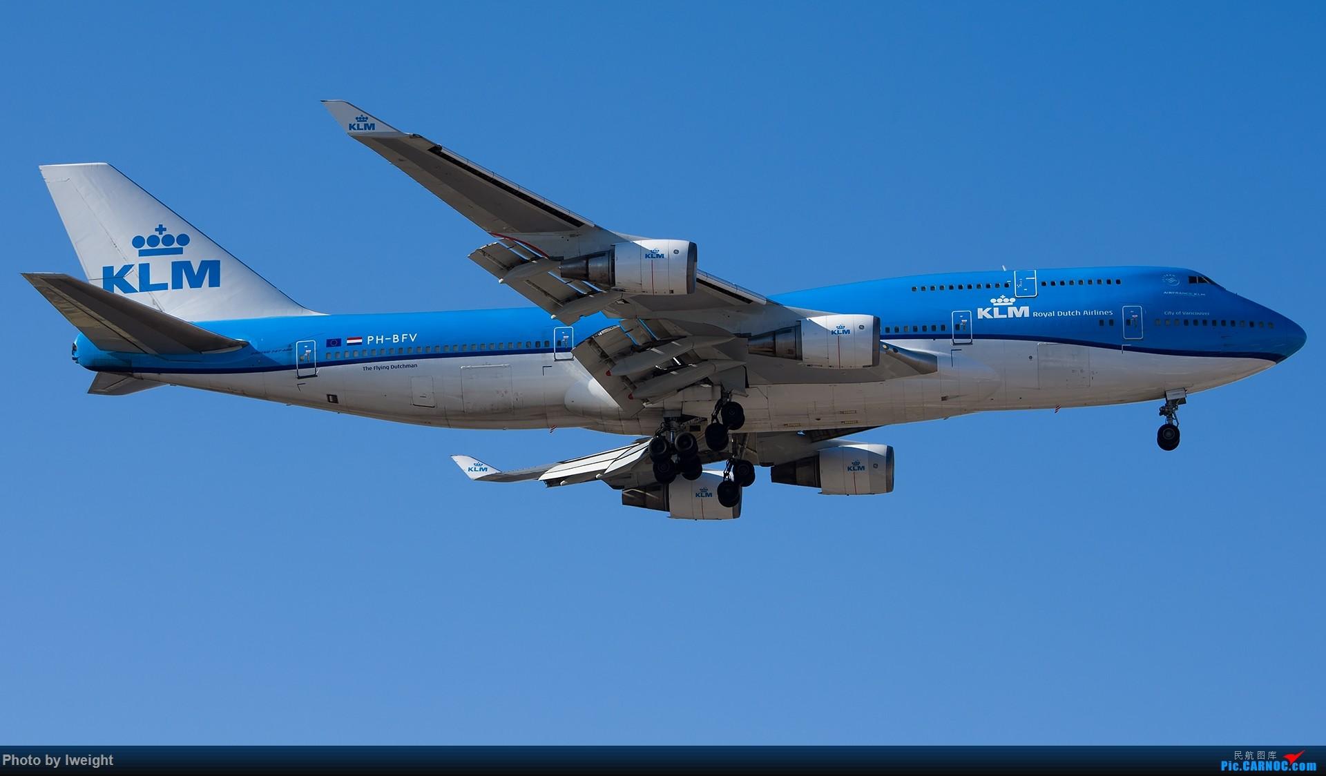 Re:[原创]终于在12月的北京等到了一个晴天的周末,出来拍拍飞机【2015-12-5】 BOEING 747-400 PH-BFV 中国北京首都国际机场