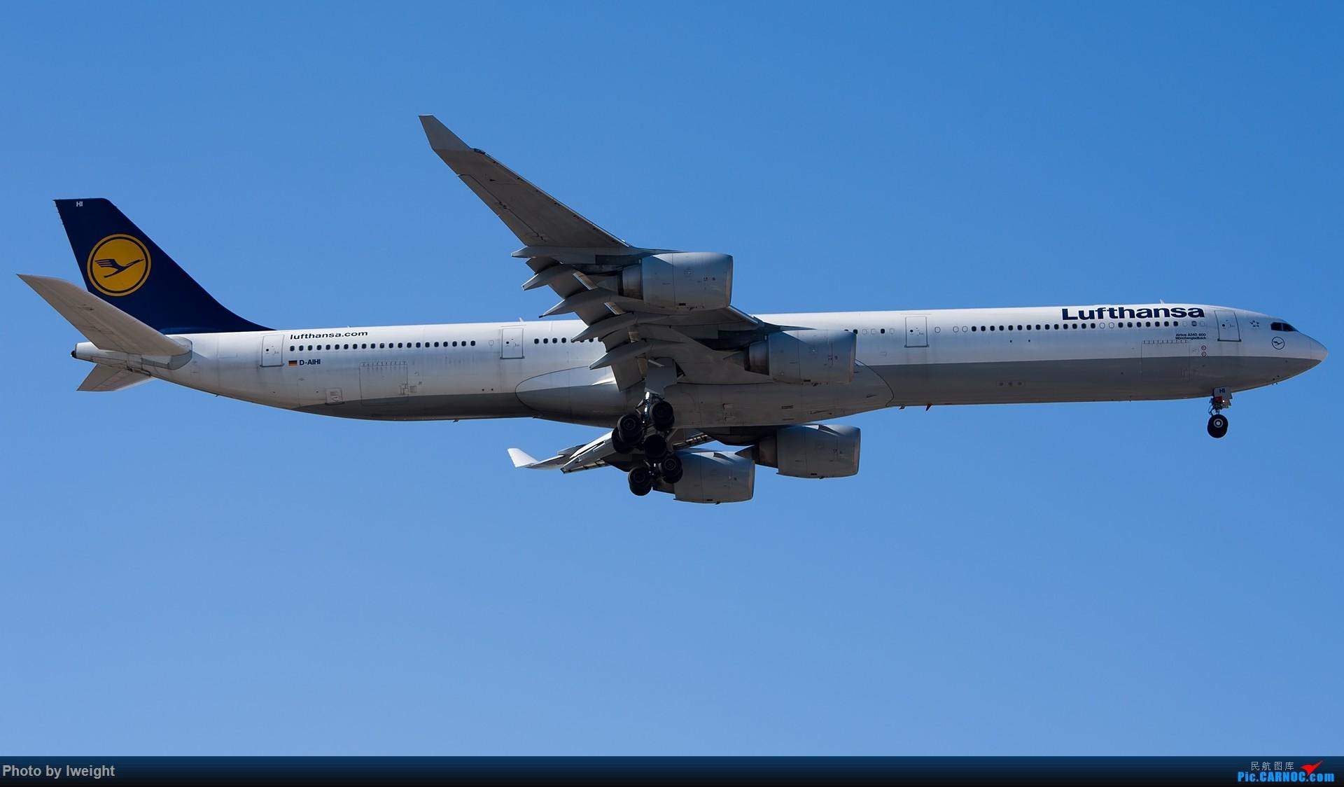 Re:[原创]终于在12月的北京等到了一个晴天的周末,出来拍拍飞机【2015-12-5】 AIRBUS A340-600 D-AIHI 中国北京首都国际机场