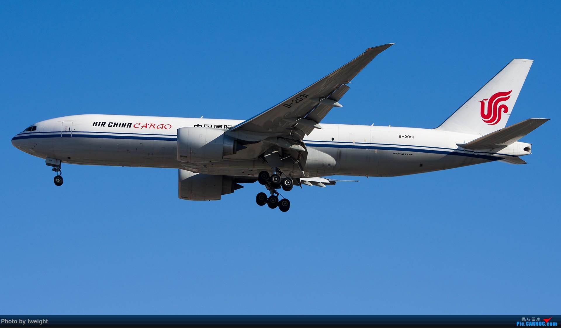 Re:[原创]终于在12月的北京等到了一个晴天的周末,出来拍拍飞机【2015-12-5】 BOEING 777-200 B-2091 中国北京首都国际机场