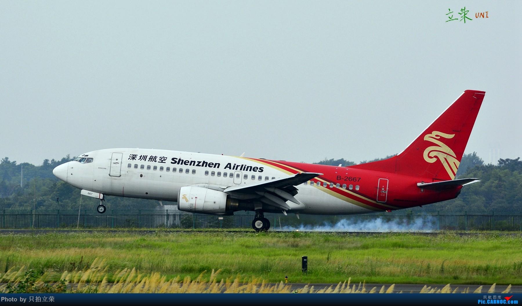Re:[原创]长沙黄花机场73G/737-700擦烟小集锦 BOEING 737-700 B-2667 中国长沙黄花国际机场