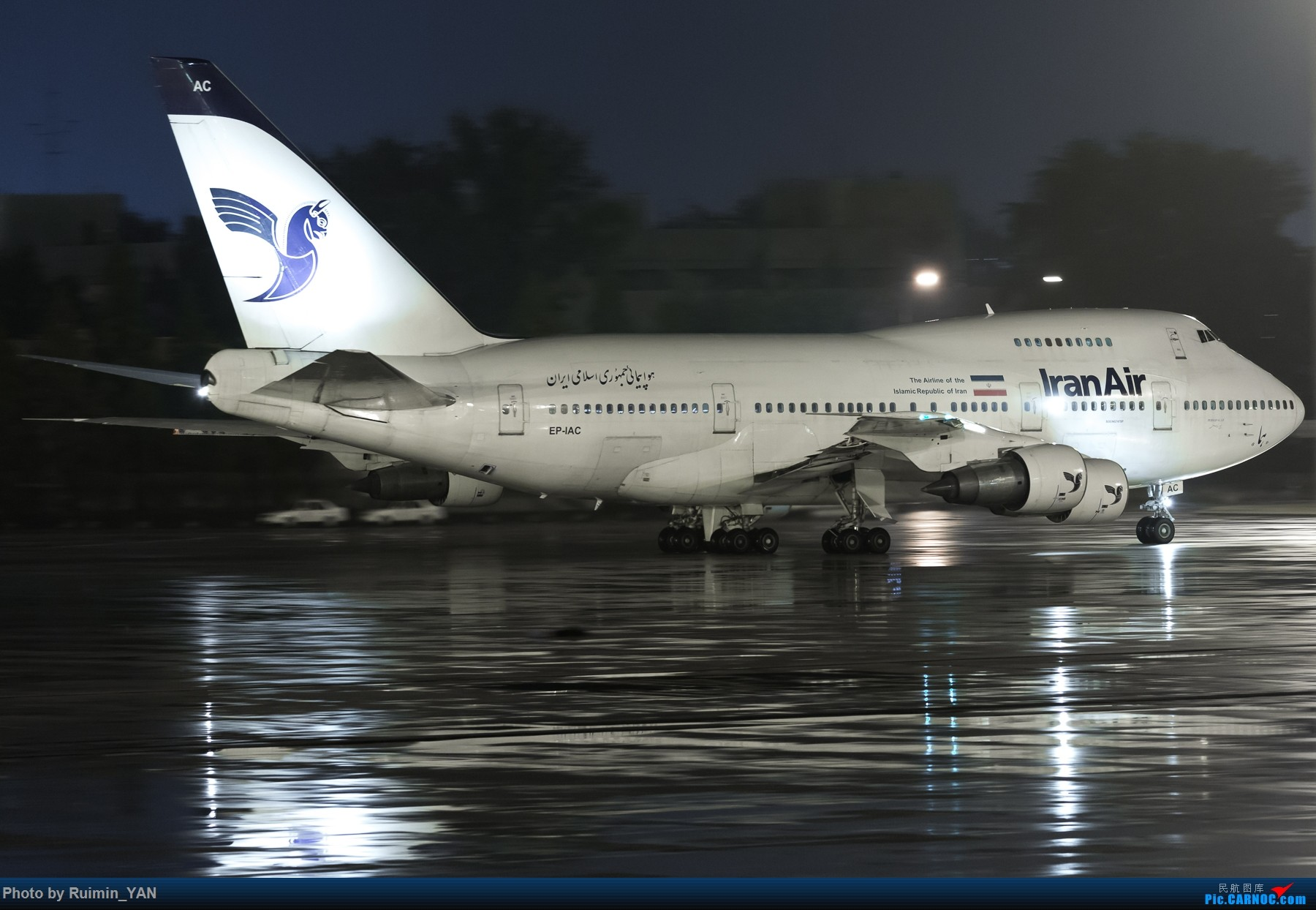 Re:【PEK飞友会】747SP BOEING 747-SP EP-IAC 中国北京首都国际机场