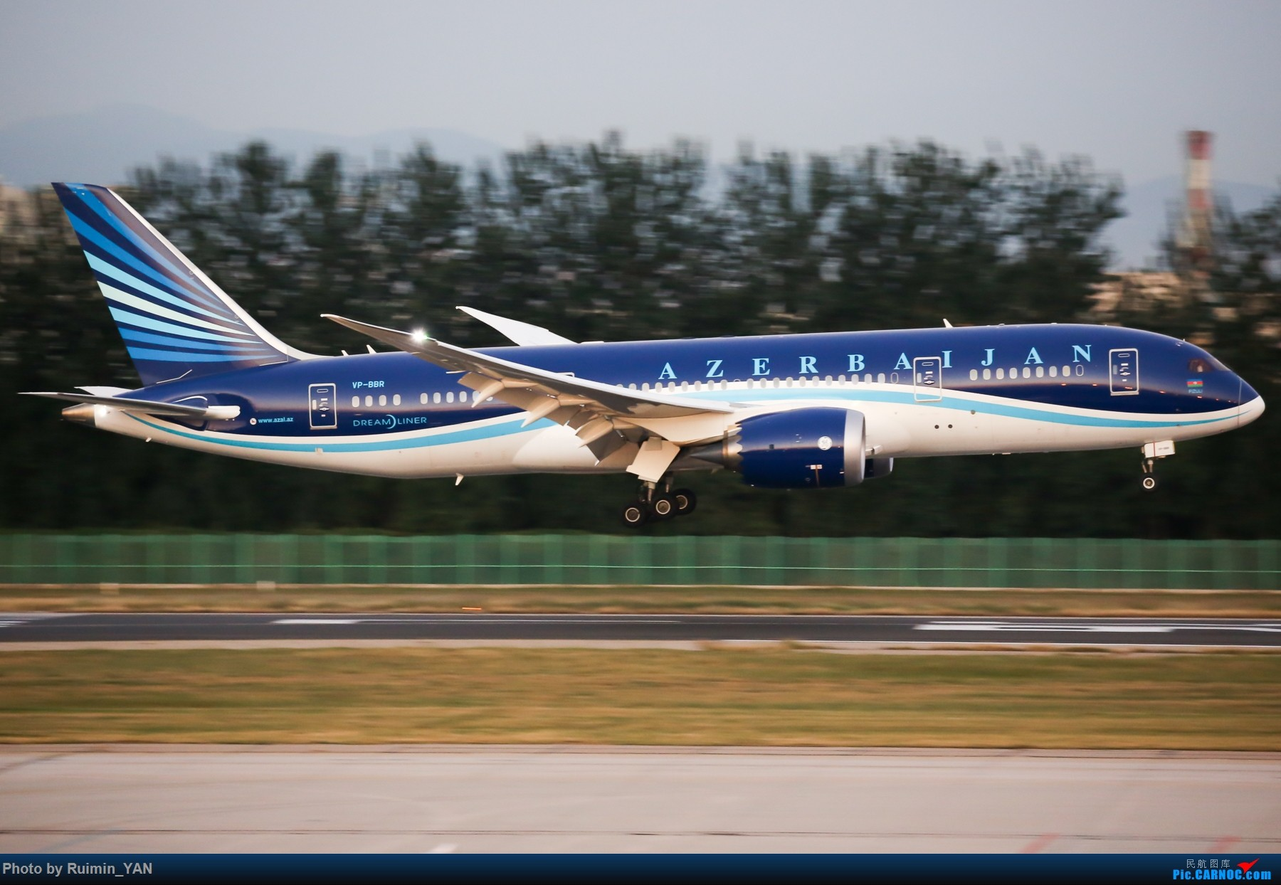 Re:[原创]【PEK飞友会】阿塞拜疆 BOEING 787-8 VP-BBR 中国北京首都国际机场