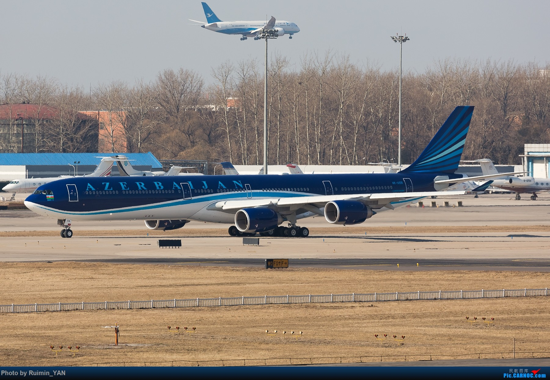 Re:【PEK飞友会】阿塞拜疆 AIRBUS A340-600 4K-AI08 中国北京首都国际机场