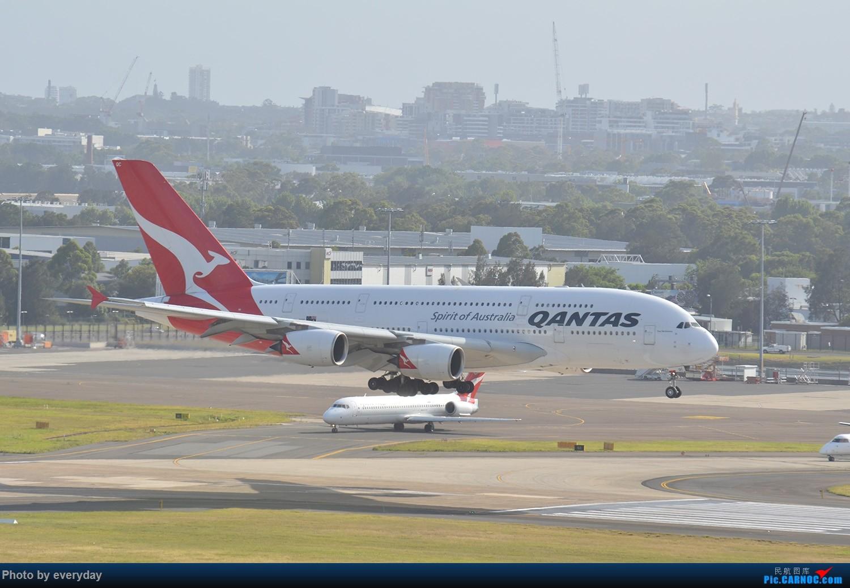 Re:[原创]迎接ANA R2D2 首航悉尼闲暇拍机一小时 A380 VH-OQC 澳大利亚悉尼金斯福德·史密斯机场