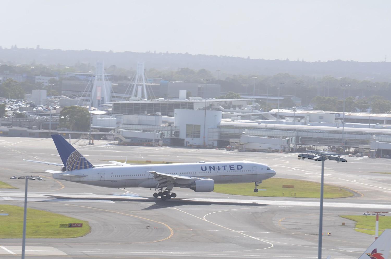 Re:[原创]迎接ANA R2D2 首航悉尼闲暇拍机一小时 B777 N226UA 澳大利亚悉尼金斯福德·史密斯机场