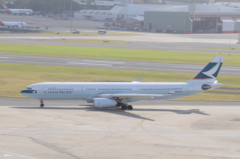Re:[原创]迎接ANA R2D2 首航悉尼闲暇拍机一小时 A333 B-LAD Sydney