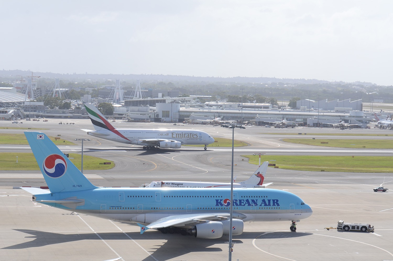Re:[原创]迎接ANA R2D2 首航悉尼闲暇拍机一小时 A380 HL7621 Sydney
